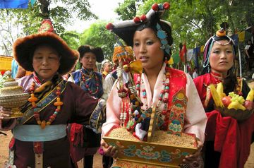 Buddha Jayanti is a major festival for the Tibetans