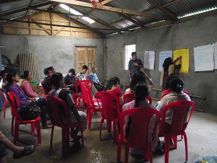 Counseling sessions for parents of disabled children at Darjeeling SPARSH