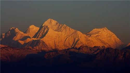 Lhotse Everest And Kanchenjunga From Phalut