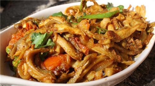 Mushroom Fried - Nepali Style