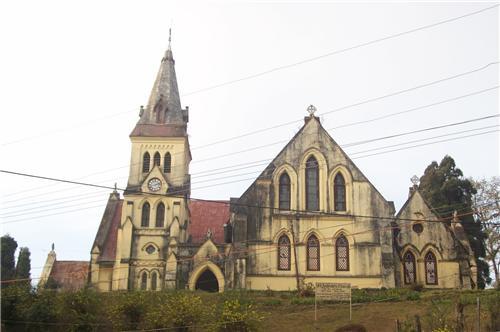 St Andrews Church on Mall Road in Darjeeling