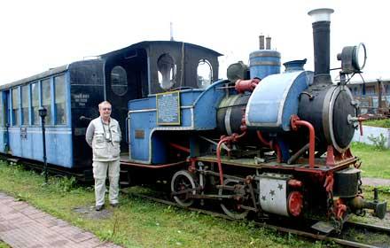 Baby Sivok at Darjeeling Railway Museum