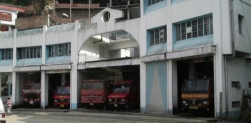 Fire Station in Darjeeling