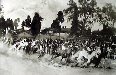 Governor's Cup in Progress in 1952
