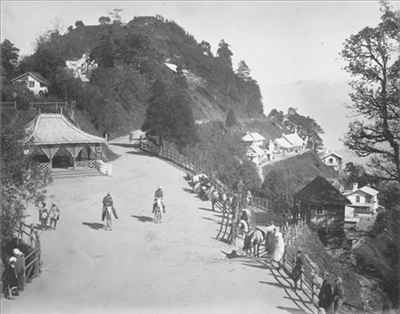 A Darjeeling Road in 1880