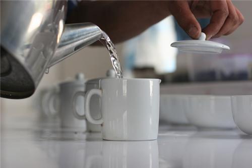Preparing a perfect cuppa