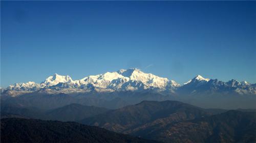 View From Sandakphu