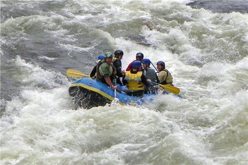 White Water Rafting In River Teesta