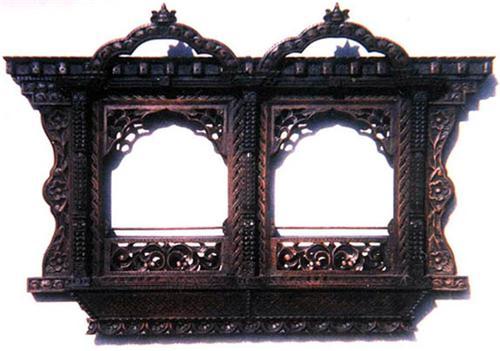 Woodwork by Gorkhali artisans
