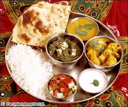 Thali : Daily food