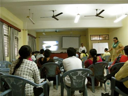 The organisations work by organising workshops at various places
