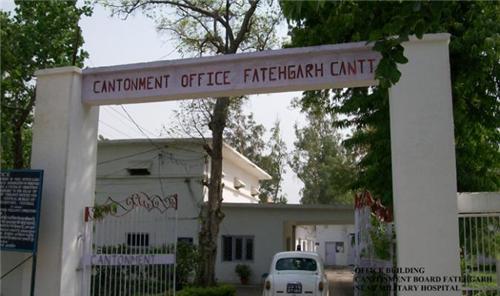 Cantonment Board in Fatehgarh address