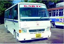 Buses from Gandhinagar