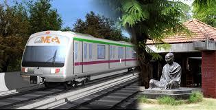Metro in Gandhinagar