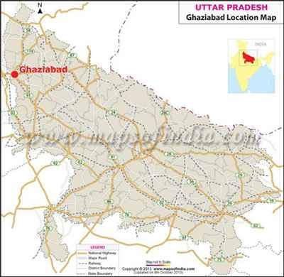 Geography of Ghaziabad