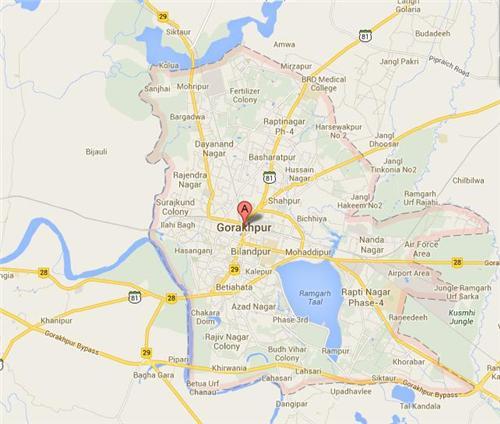 Gorakhpur Map