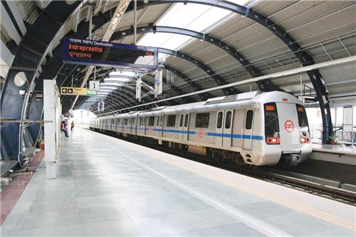 Metro in Gurugram