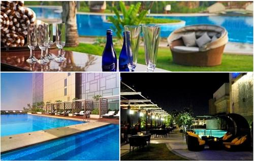 Poolside Romantic Restaurant Gurugram