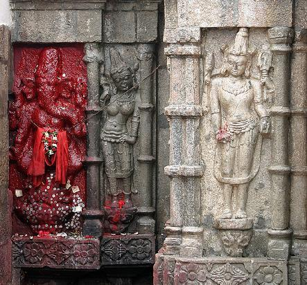 Kamakhya Devi Temple Walls