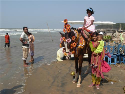 Beach in Digha