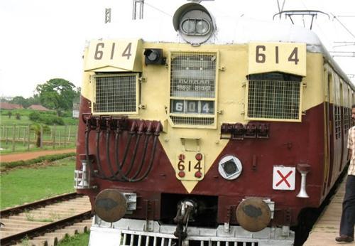 Railway at Haldia