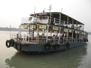 Ferry Ride in Haldia