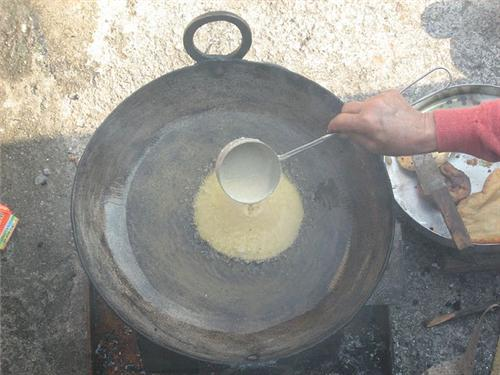 preparing Babroo