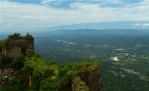 Hamirpur from Top of Jhak Dhar