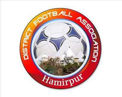 Logo of Hamirpur Football Association