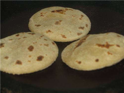 Roasted Bhatura