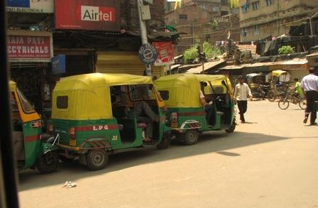 Auto-Rickshaws in Howrah