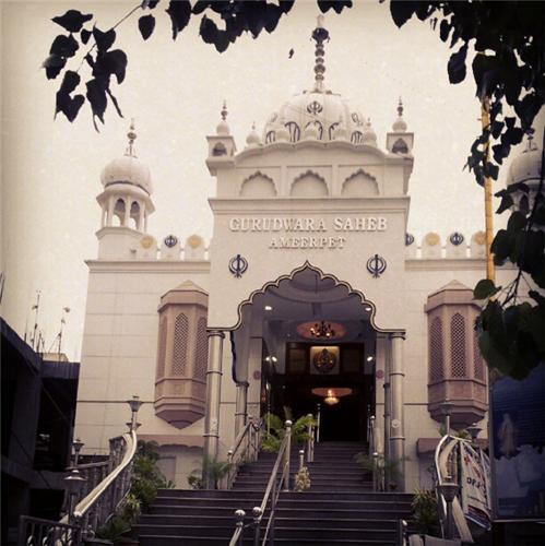 Gurudwara Saheb Ameerpet in Hyderabad