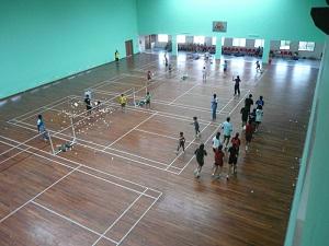 Badminton Infra