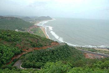 Beaches near Hyderabad