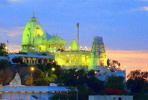 Beautiful Architecture of Birla Temple