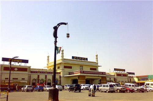 Railway Station in Hyderabad