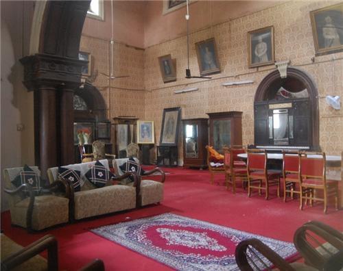Interiors of Purani Haveli