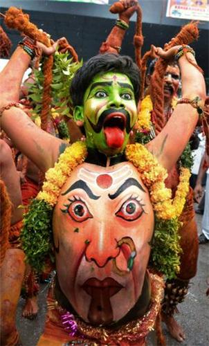 Bonalu in Hyderabad