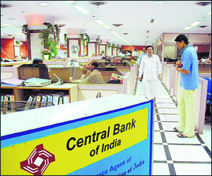 Central Bank Branches of Indore