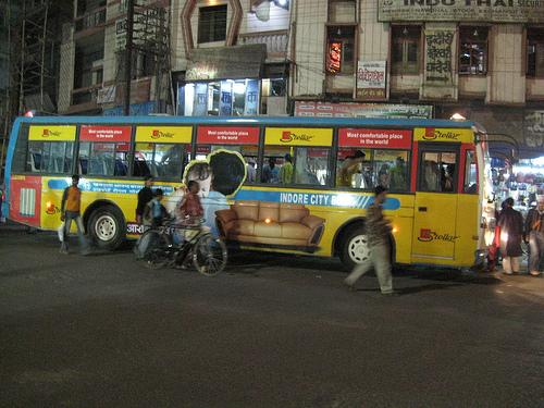 About Indore Buses
