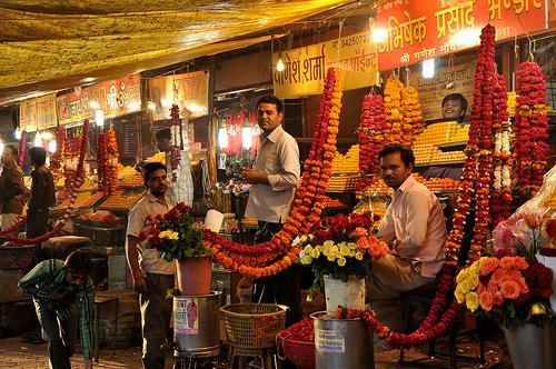 Flower Markets in Indore