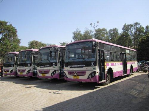 Buses in Indore