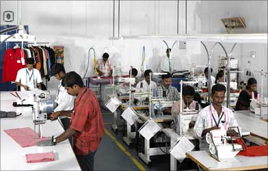 Textile industries in Indore