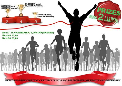 Winners at Indore Marathon