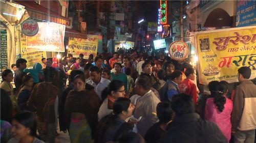 Sarafa Bazar Rush