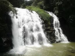 Waterfalls near the city of Indore