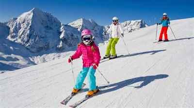 भारत में स्कीइंग के स्थान