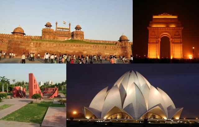उत्तर भारत में पर्यटन स्थल