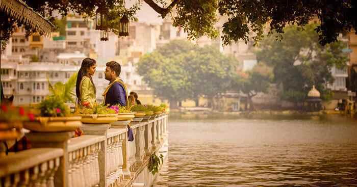 भारत के रोमांटिक गंतव्य