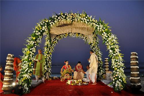 Best places to get married in India